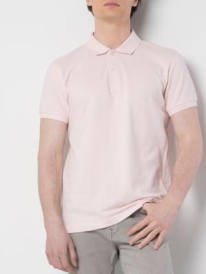 Футболка-поло розовая | 5377903