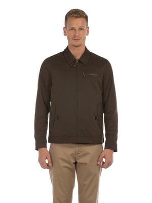 Куртка коричневая   5376197