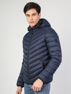 Куртка синяя   5376287