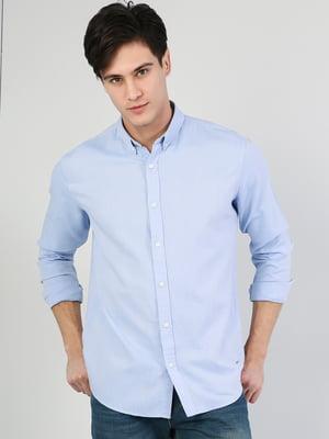 Рубашка голубая | 5376494