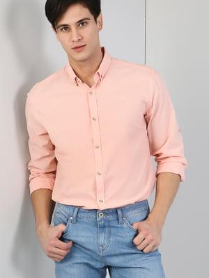 Рубашка лососевого цвета | 5377213