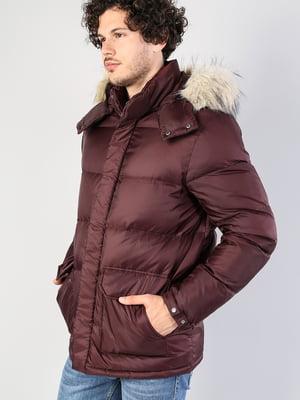 Куртка бордовая   5376812