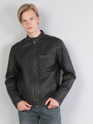 Куртка полиуретановая черная   5376821