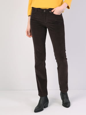 Брюки темно-коричневые   5377007