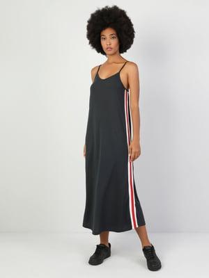 Платье антрацитового цвета | 5377299