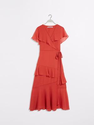 Платье кирпичного цвета | 5372973