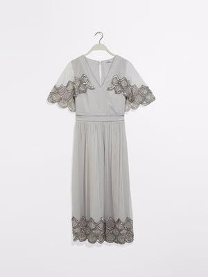 Сукня світло-сіра | 5372999