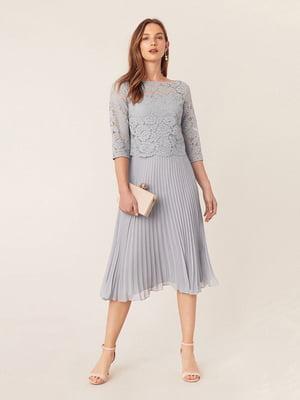 Сукня світло-сіра | 5073862