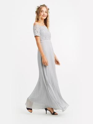 Сукня світло-сіра | 5372694