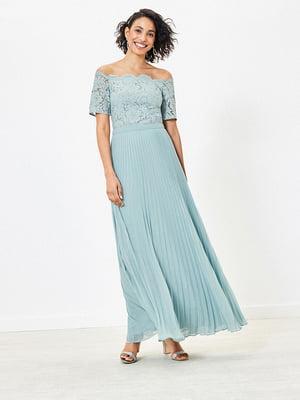 Сукня м'ятного кольору | 5372695