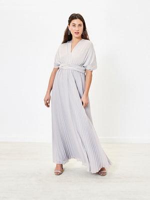 Сукня світло-сіра | 5372698