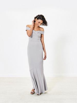 Сукня світло-сіра | 5372702