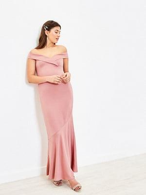 Сукня кольору пудри | 5372704