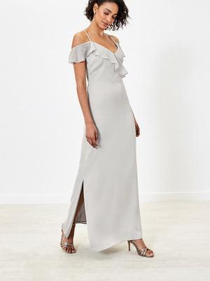 Сукня світло-сіра | 5372705