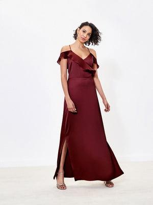 Сукня бордова | 5372707