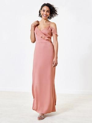 Сукня кольору пудри | 5372708