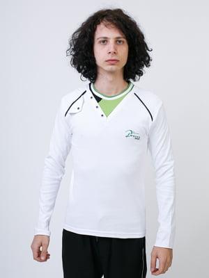 Джемпер белый с декором | 5374135