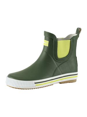 Сапоги резиновые зеленые | 5373754
