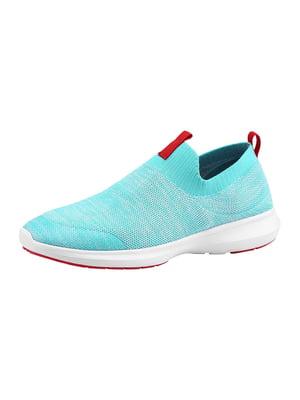 Кроссовки голубые | 5373783
