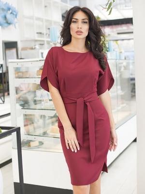Сукня бордова | 5379833