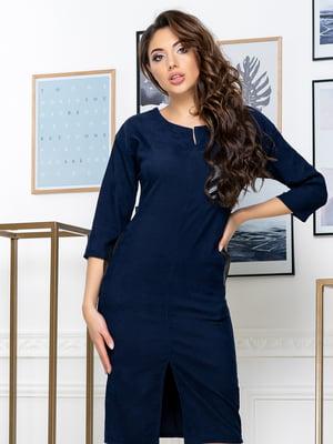 Сукня темно-синя | 5379897
