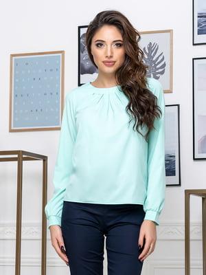 Блуза мятного цвета | 5379911