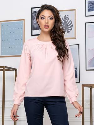Блуза цвета пудры | 5379912