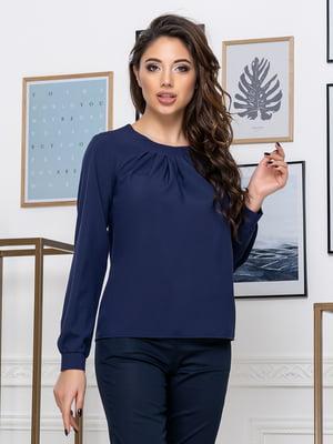 Блуза темно-синя | 5379913