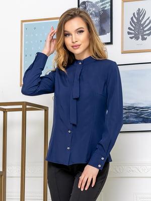 Рубашка темно-синяя | 5379928