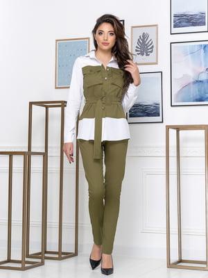 Костюм: рубашка и брюки | 5379935
