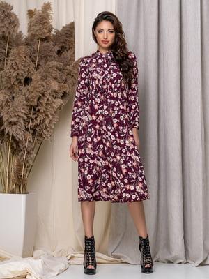 Платье в цветочный принт | 5379942