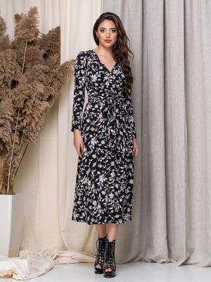 Платье в цветочный принт | 5379950