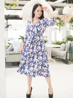 Платье в цветочный принт | 5380014