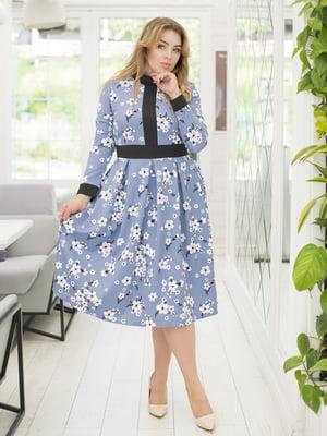 Платье в цветочный принт | 5380018