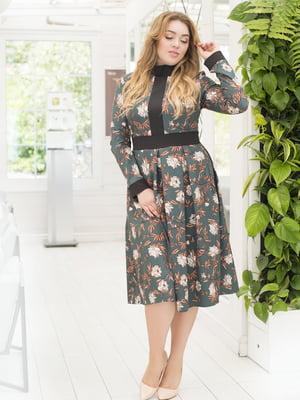 Платье в цветочный принт | 5380020