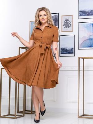Сукня цегляного кольору | 5380026