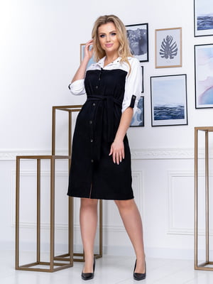 Сукня двокольорова | 5380047