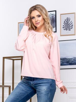 Блуза цвета пудры | 5380055