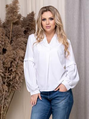 Блуза біла | 5380057