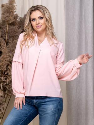 Блуза цвета пудры | 5380060