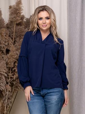 Блуза темно-синяя | 5380061