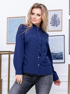 Рубашка темно-синяя | 5380071