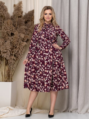 Платье в цветочный принт | 5380080