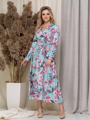 Сукня в квітковий принт | 5380088