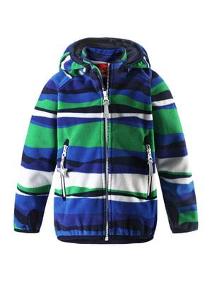 Куртка разноцветная в полоску   5373390