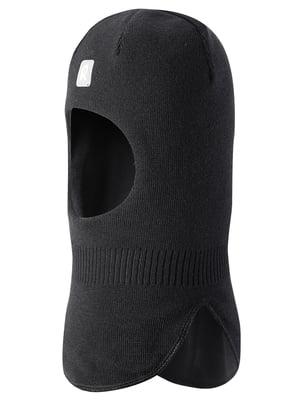 Шапка-шлем черная | 5374077