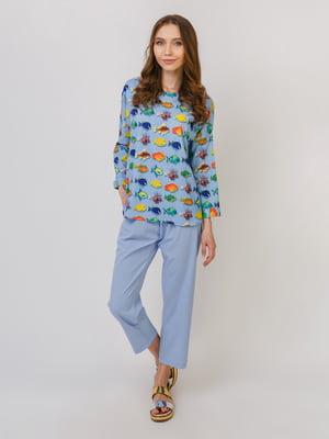 Пижама: лонслив и брюки | 5379553