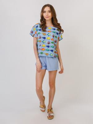 Піжама: футболка і шорти | 5379556