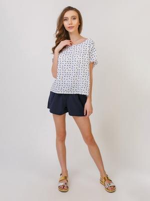 Пижама: футболка и шорты | 5379557