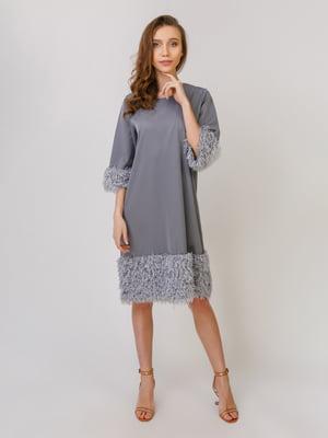 Сукня сіра | 5379449